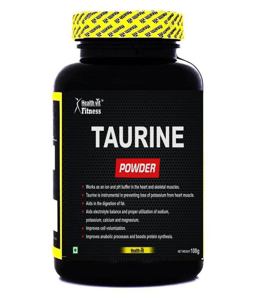 Healthvit FitnessTaurine Powder 100Gms Powder 60 gm