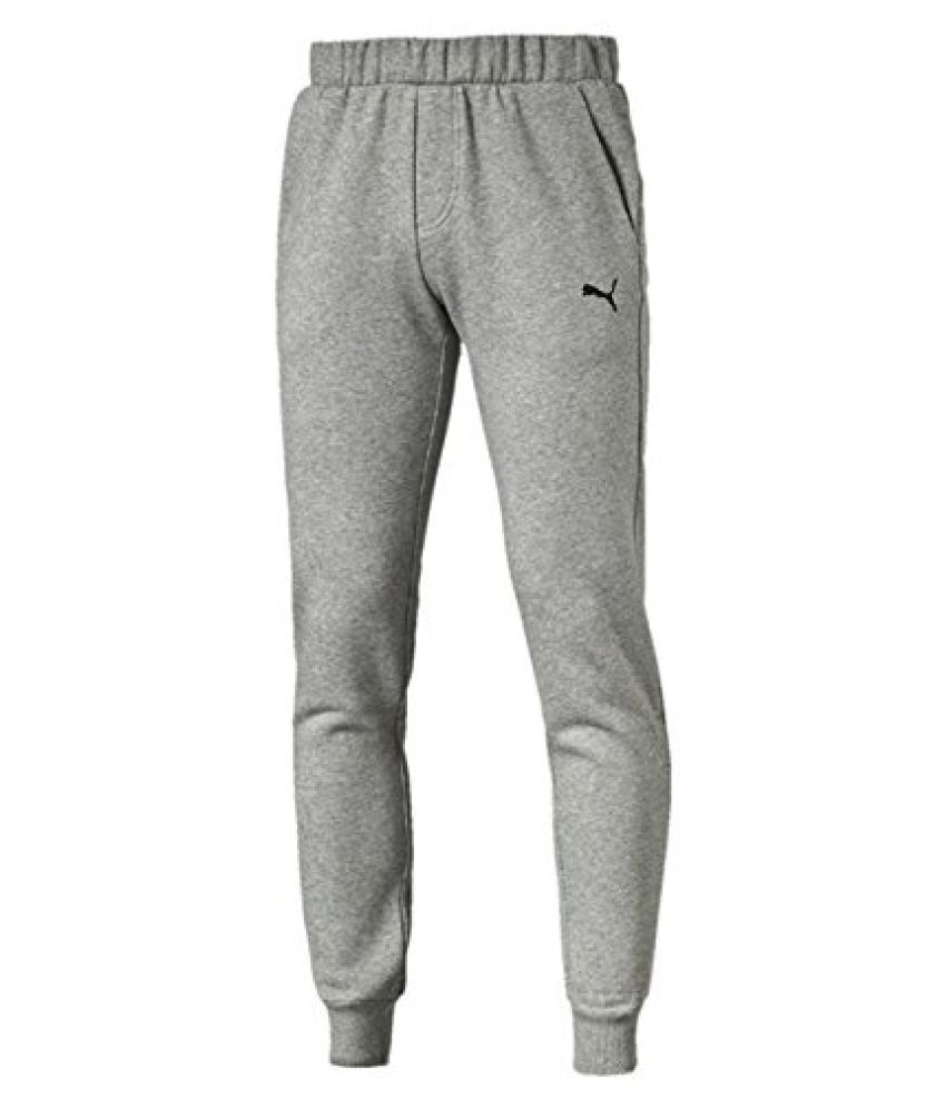 PUMA ESS SWEAT PANTS SLIM FL MEDIUM GRAY TROUSER