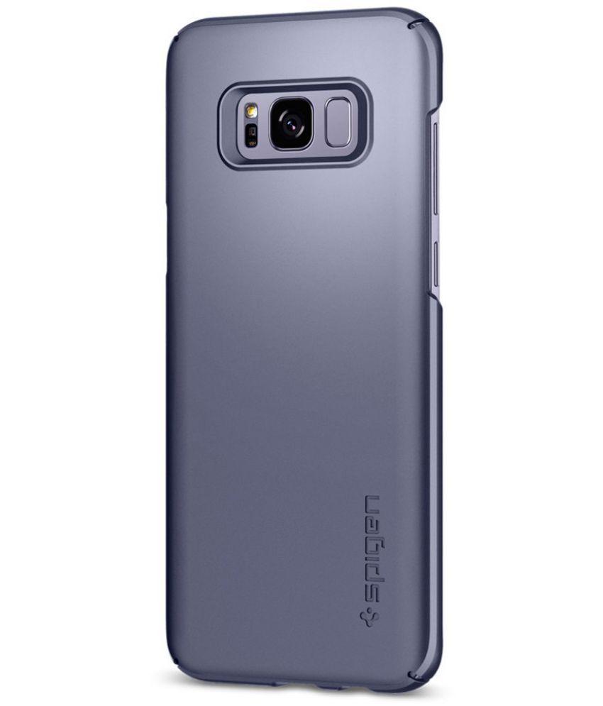on sale 4a1da 554c3 Spigen Galaxy S8 Case Thin Fit Orchid Gray 565CS21623