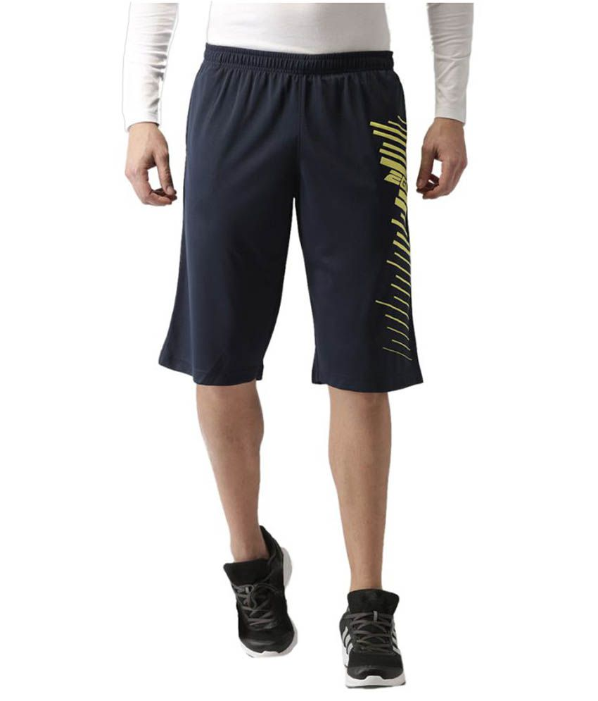 2GO Dare Navy Printed Basket Ball Shorts