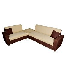 quick view l shaped sofa with tray table
