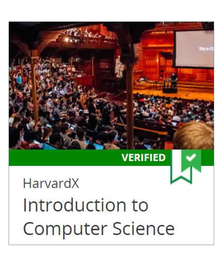 Certification Course by Harvard University on edX