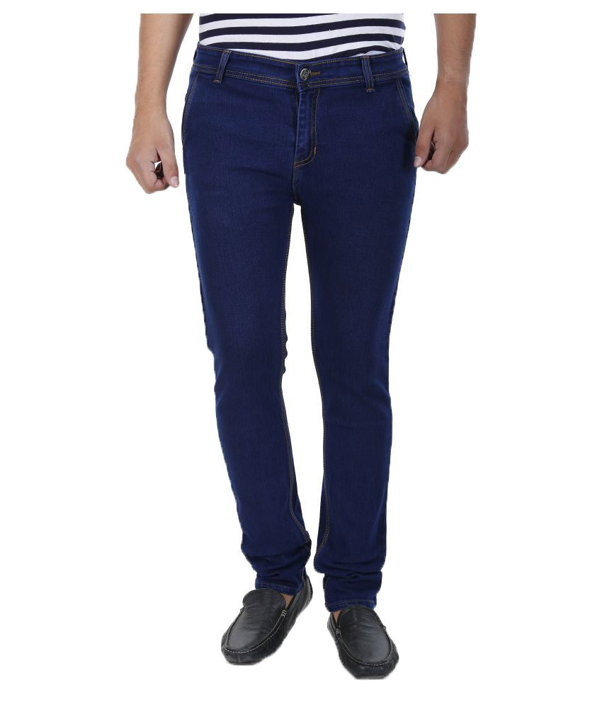 Arzona Dark Blue Slim Jeans