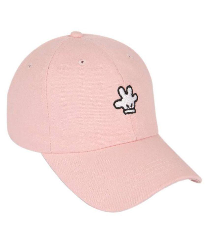 ILU PeachPuff Embroidered Acrylic Caps