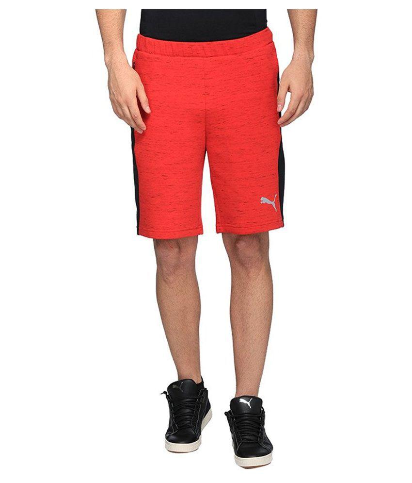 Puma Men's Cotton Shorts