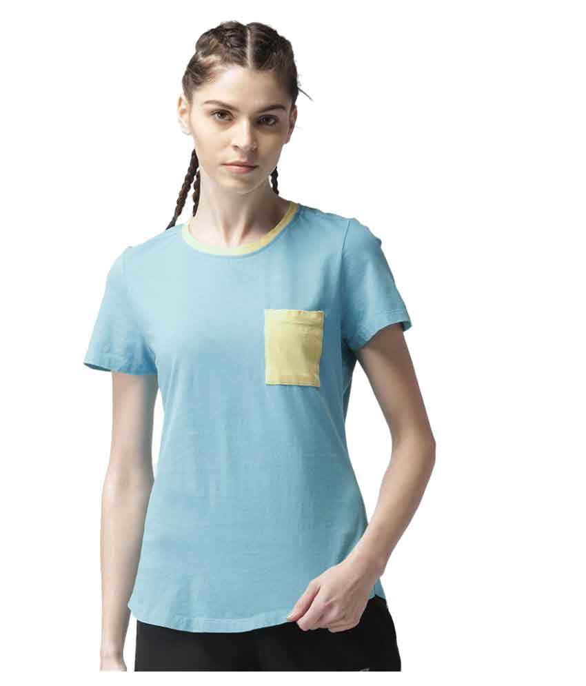 2GO Turquoise Casual T-shirt