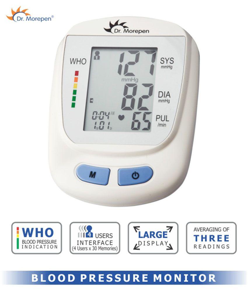 Dr  Morepen BP 09 Blood Pressure Monitor