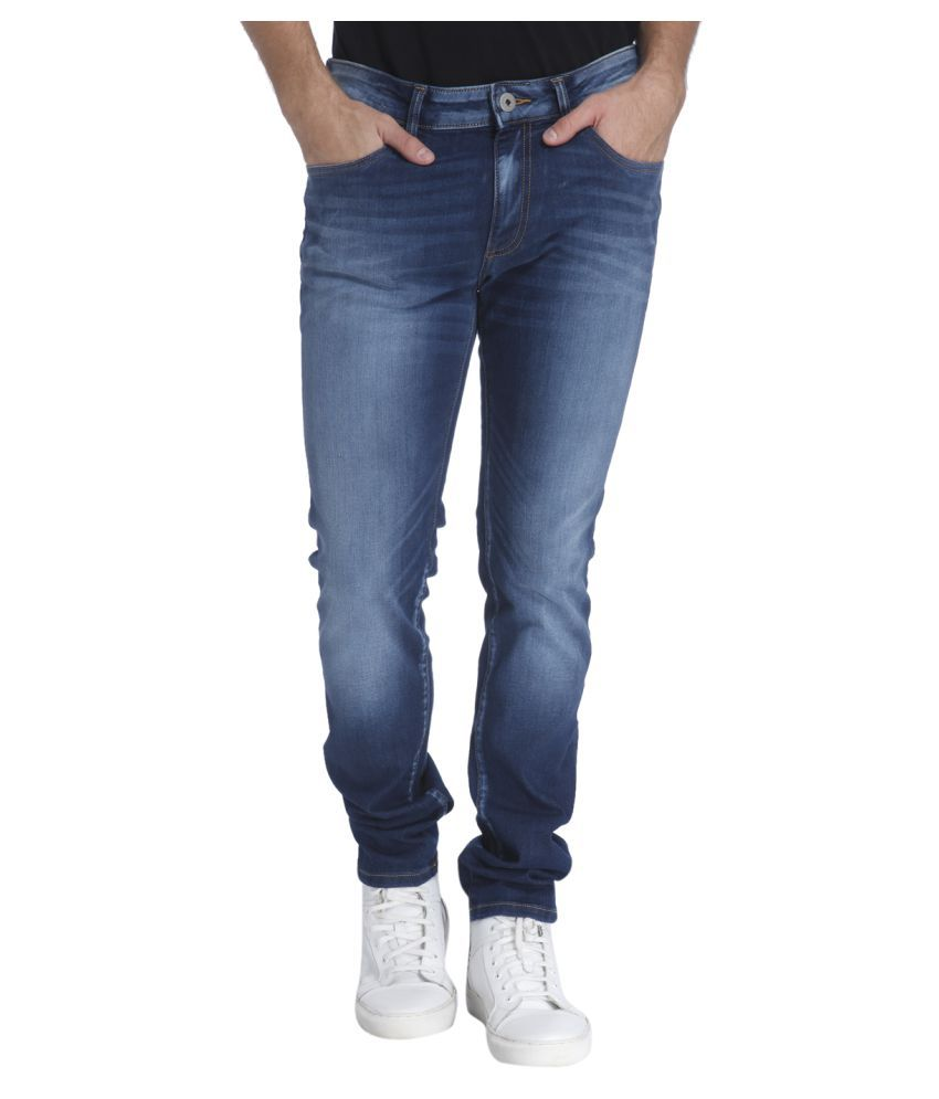 Jack & Jones Blue Skinny Jeans