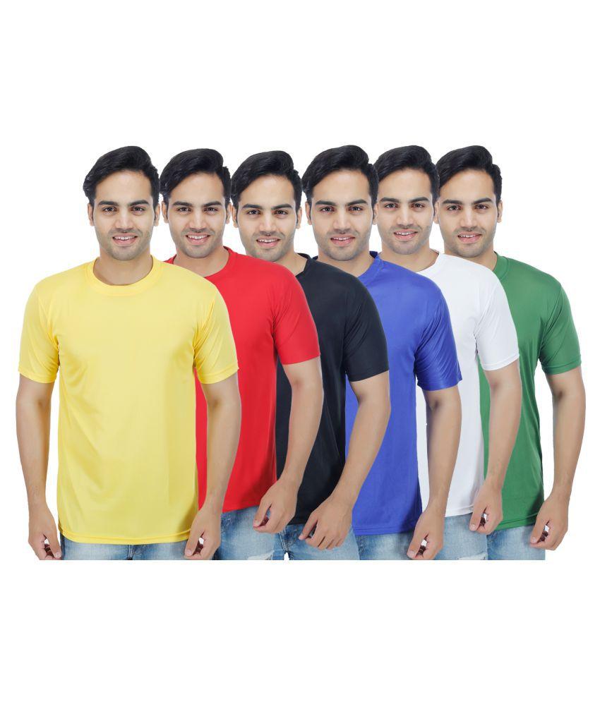Muassa Multi Round T-Shirt Pack of 6