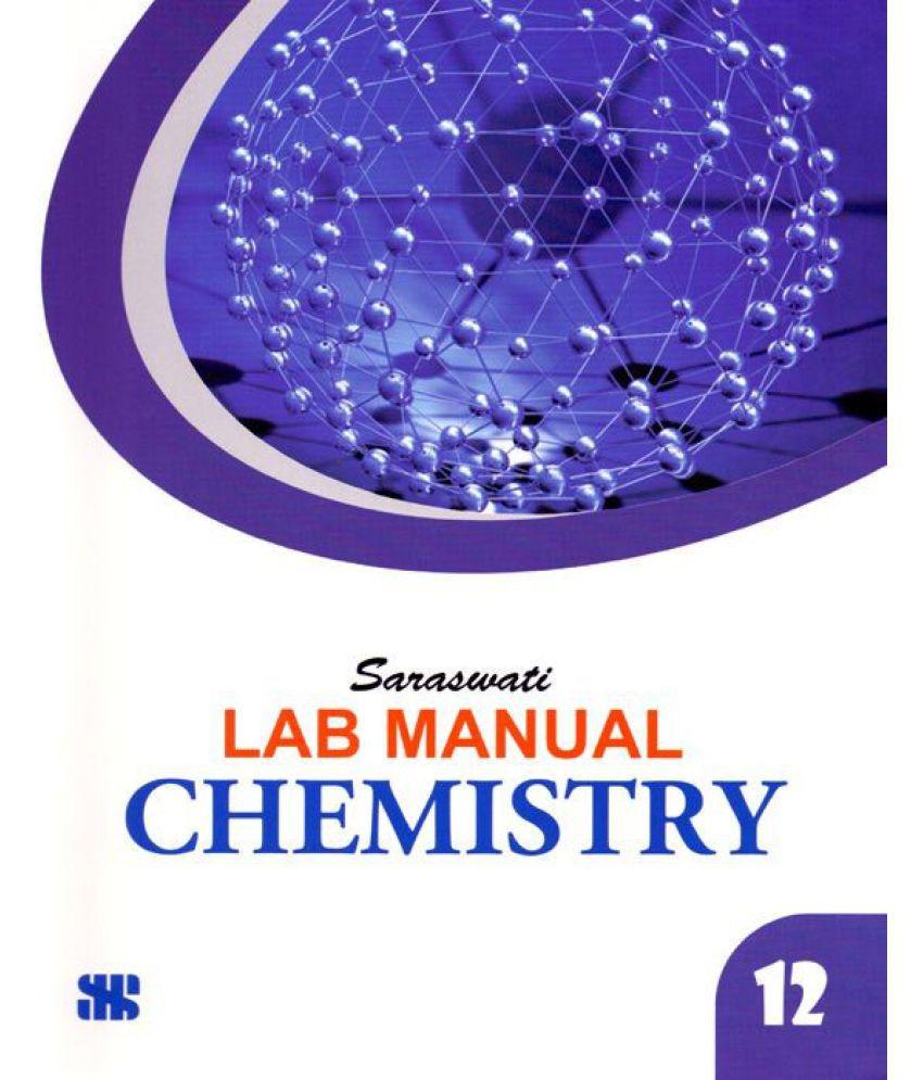 Saraswati Chemistry Lab Manual Class - 12