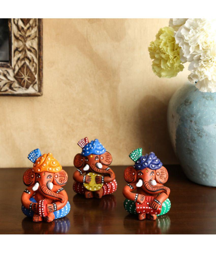 Unravel India Ganesha Terracotta Idol