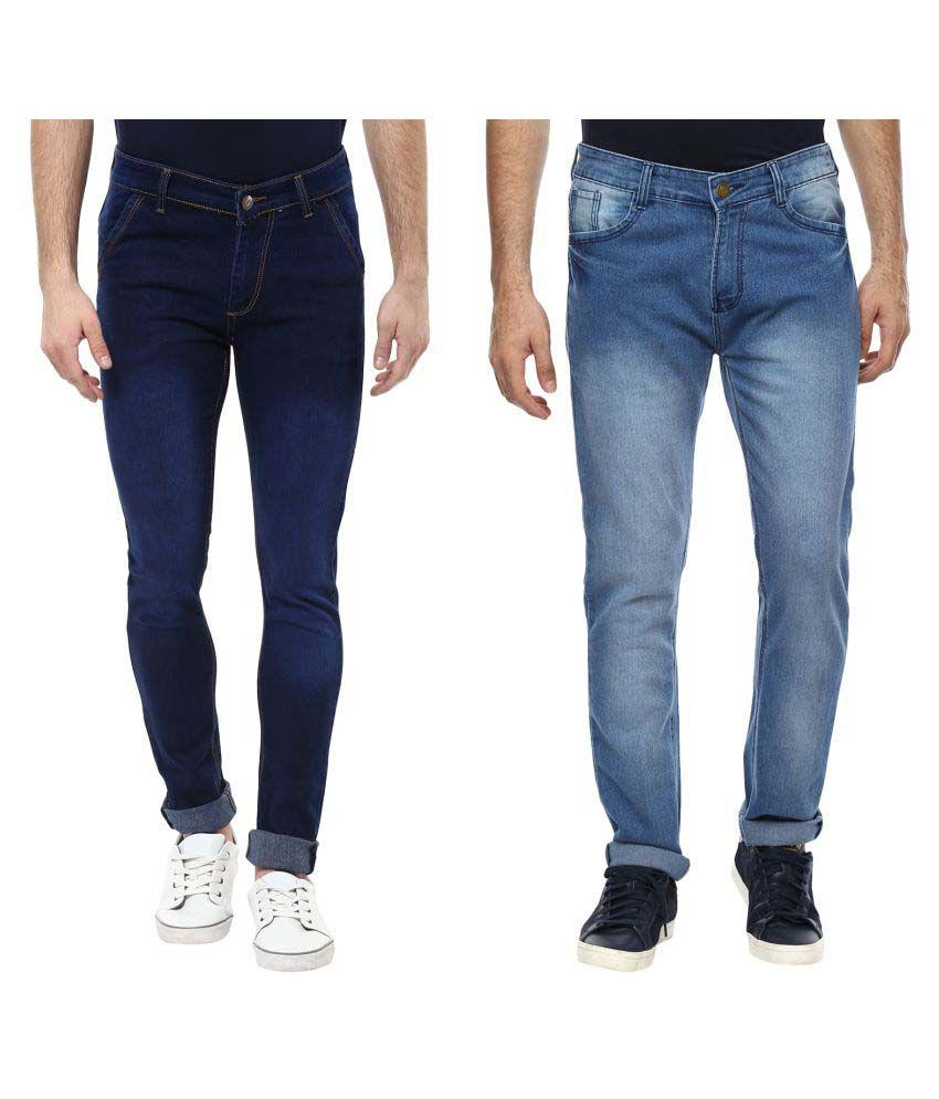Urbano Fashion Blue Slim Jeans