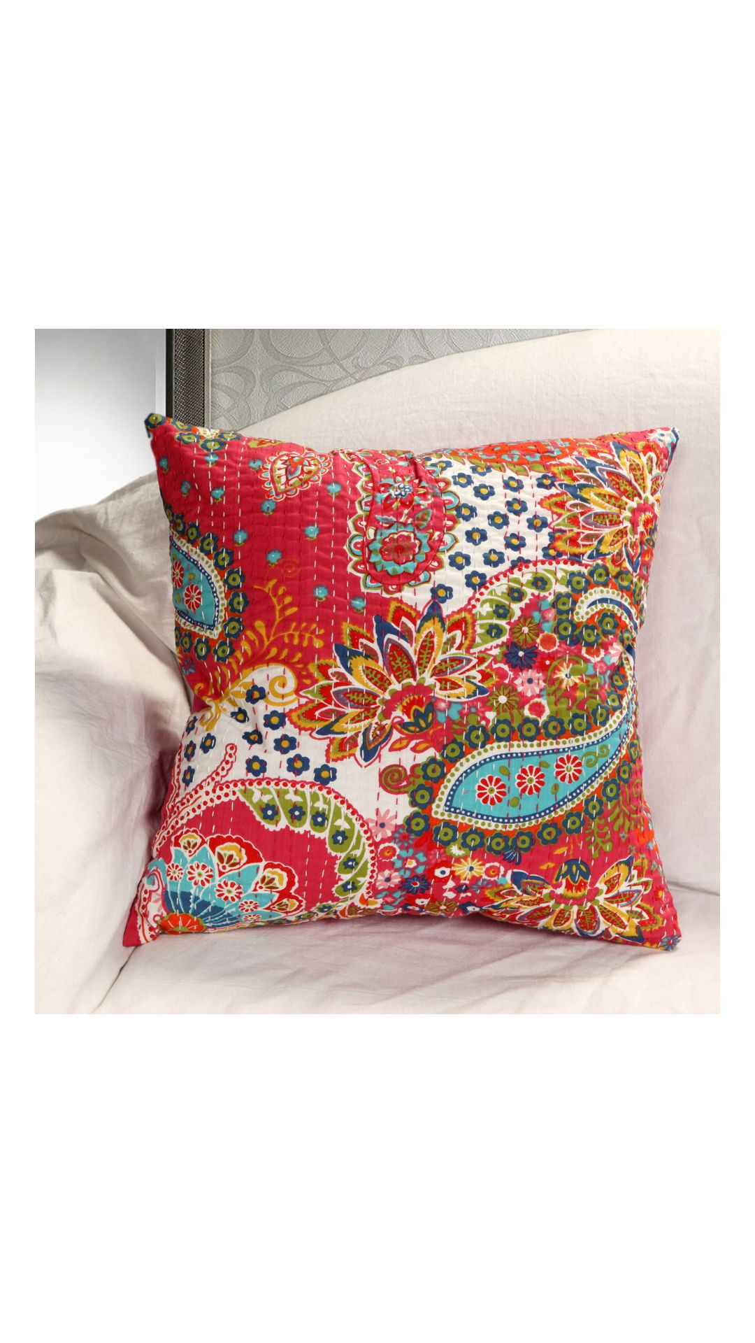 Rugsville Set of 5 Cotton Cushion Covers 40X40 cm (16X16)