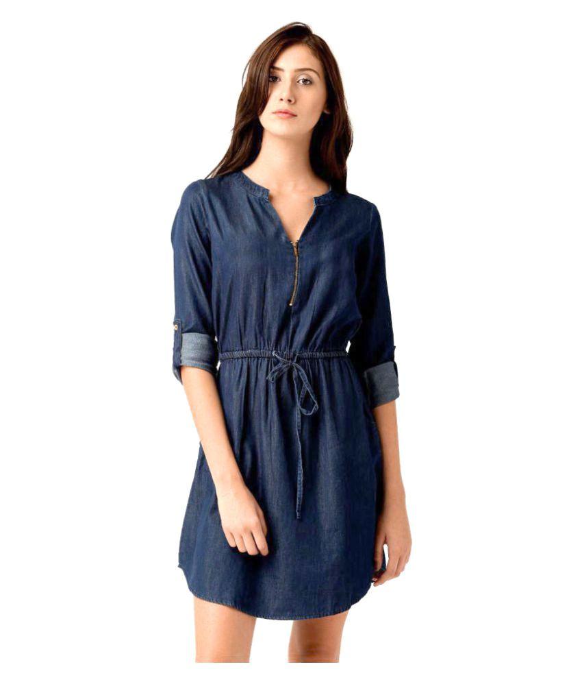 669fd66c6a Aashish Garments Denim Dresses - Buy Aashish Garments Denim Dresses Online  at Best Prices in India on Snapdeal