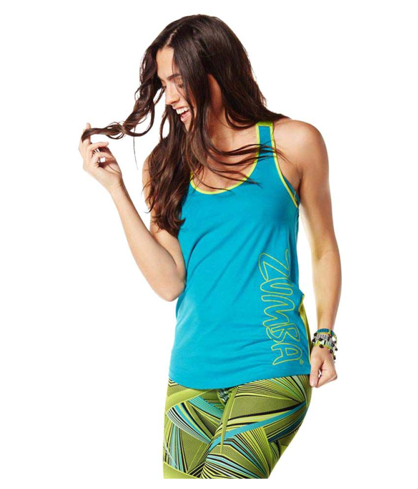 Zumba Fitness Tankful For Two-Tone