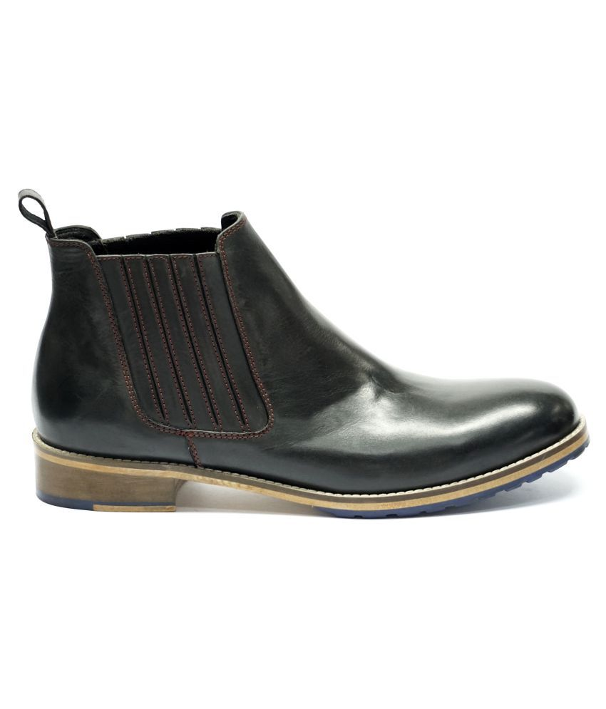 Kings Retail Black Chelsea boot