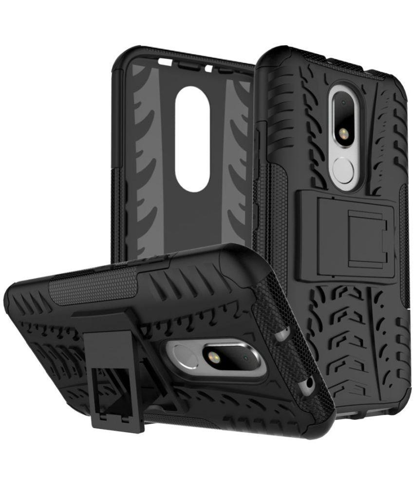 Motorola Moto M Shock Proof Case Kosher Traders - Black