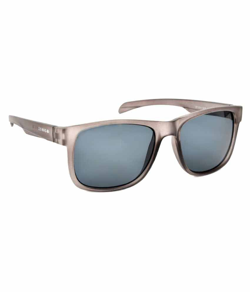 2.5 New Vision Generation Brown Wayfarer Sunglasses ( SUN1040101 )