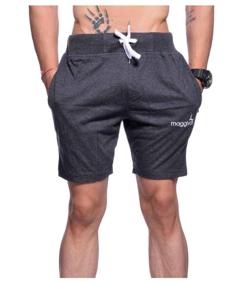 Maggivox Grey Shorts