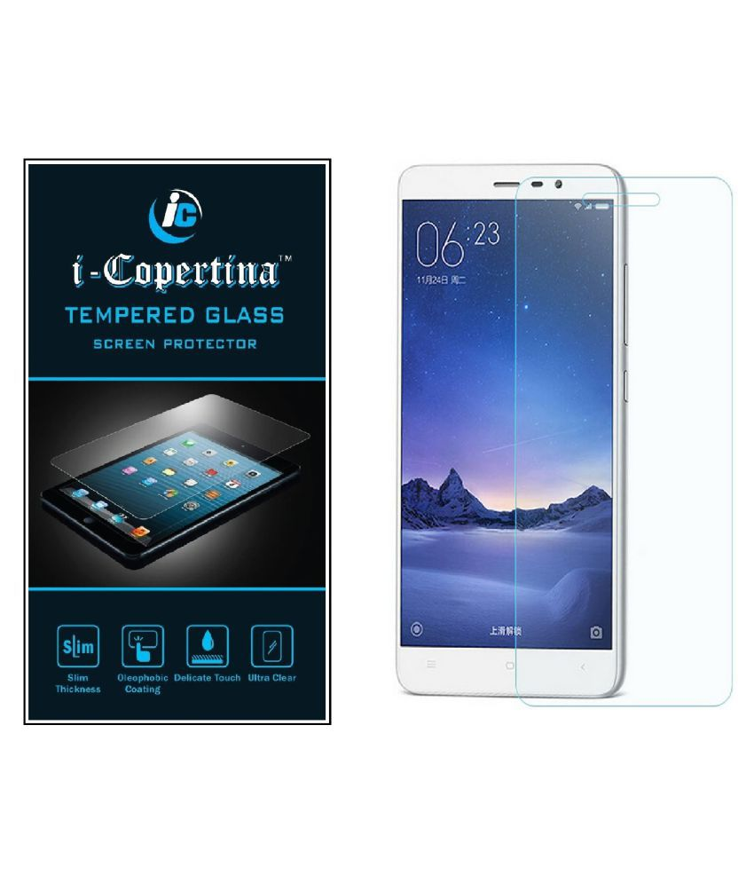 Lenovo Vibe P1 Tempered Glass Screen Guard By iCopertina