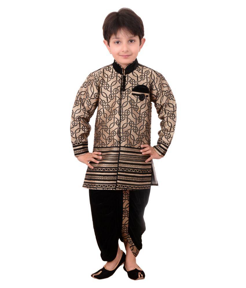 ca66fcbbd4 Arshia Fashions Boys Dhoti Kurta set ethnic wear for boys - Buy Arshia  Fashions Boys Dhoti Kurta set ethnic wear for boys Online at Low Price -  Snapdeal