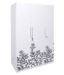 3 Doors Wardrobes Buy 3 Doors Wardrobes Online At Best Prices In