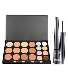 Mac makeup concealer Palette & liquidlast 8 ml Makeup Kit 16 gm