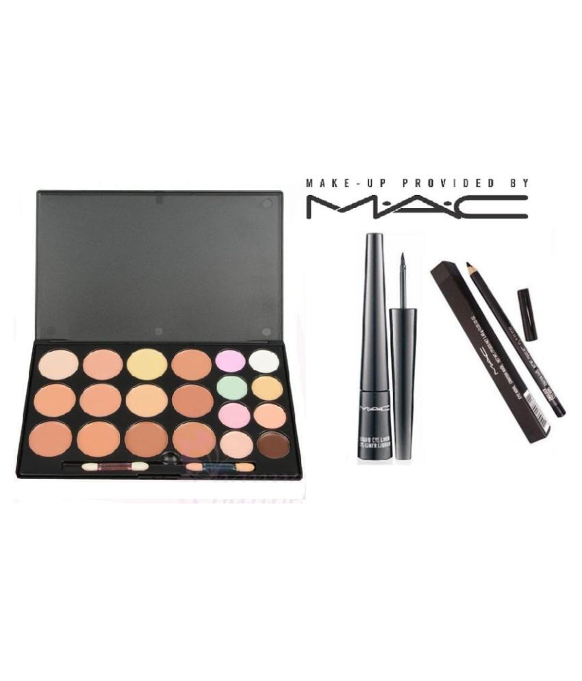 Mac Makeup 20 Color Concealer Liquidlast Liner Pencil Crayon Kajal