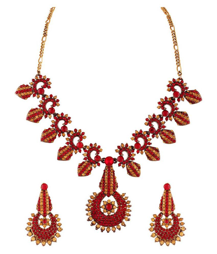 Utsavi's Modish Earring & Necklace Set for women