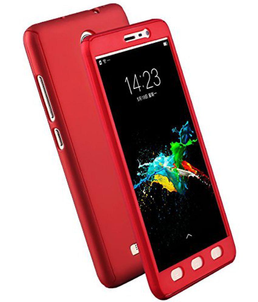 Samsung Galaxy J2 (2016) Plain Cases Kosher Traders - Red