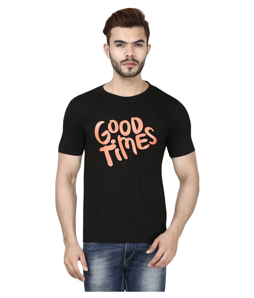 Urban Circus Black Round T-Shirt