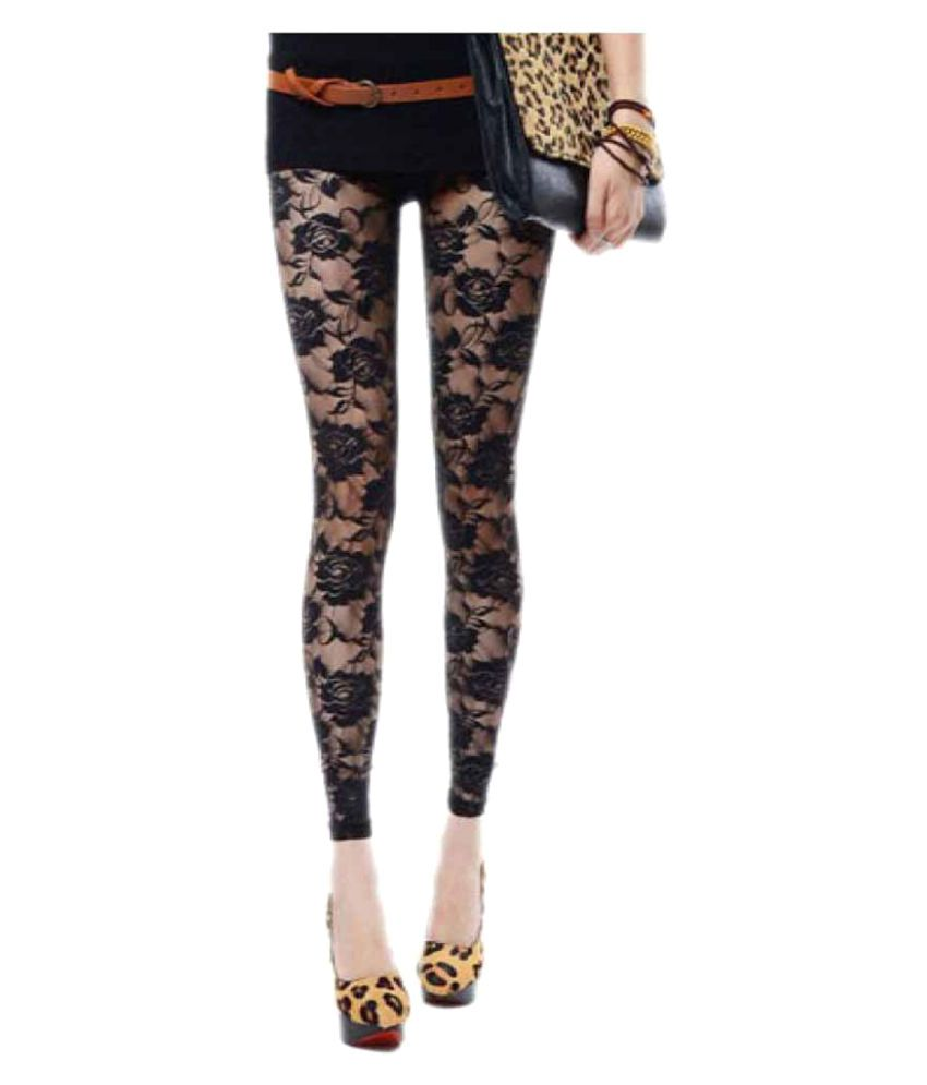 94b55bad200f4 Buy Kaamastra Net Jeggings Online at Best Prices in India - Snapdeal