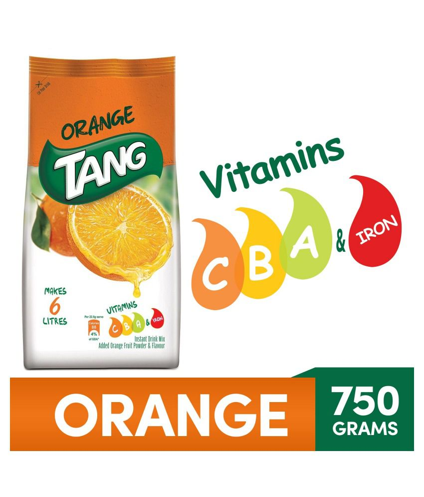 Tang Orange  Instant Drink Mix 750 G Pouch