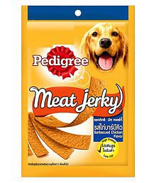 Pedigree Dog Treats - Meat Jerky Stix, Barbeque 80 G Dry Only Chicken