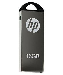 HP 220W -002 16GB USB 2.0 Utility Pendrive Grey