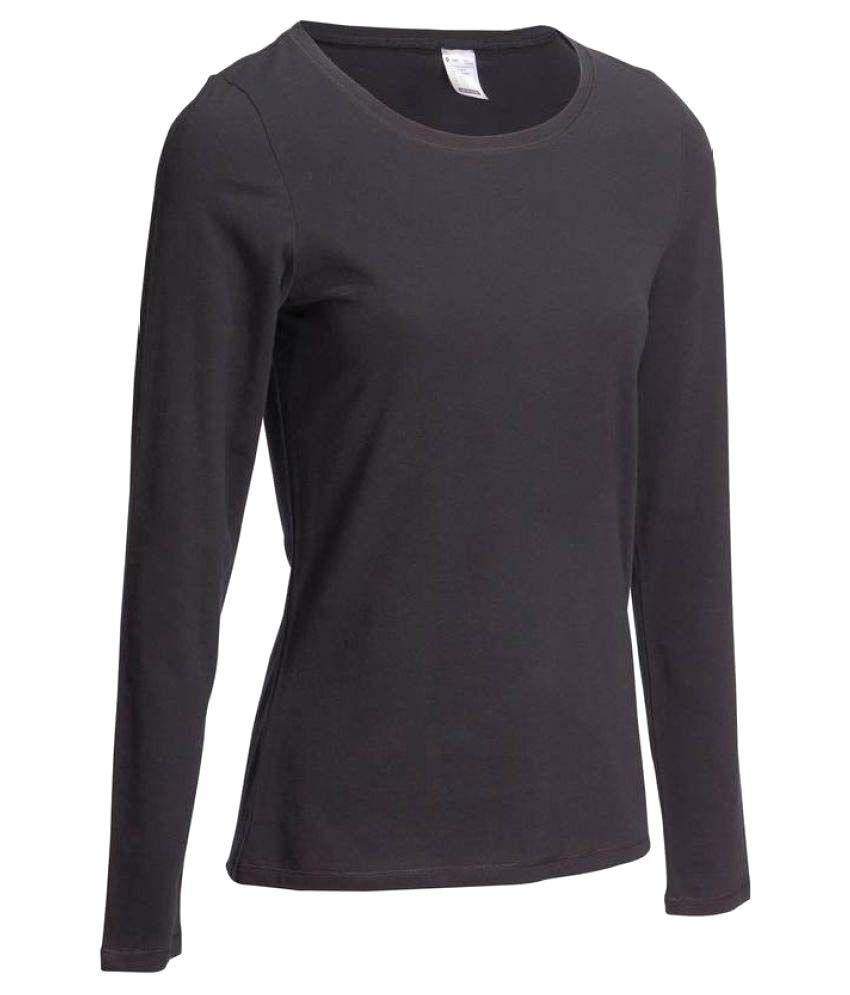 DOMYOS Comfort Women's Long Sleeved T-Shirt