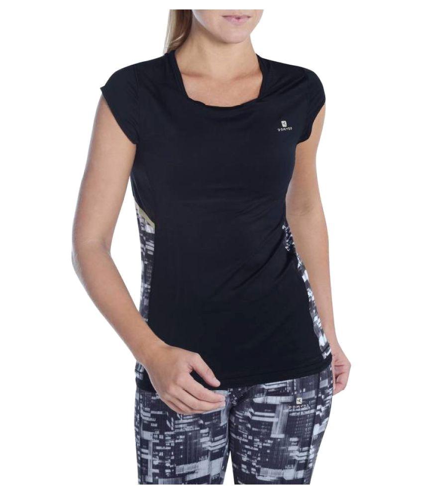 DOMYOS Energy Xtreme Women's Fitness T-Shirt