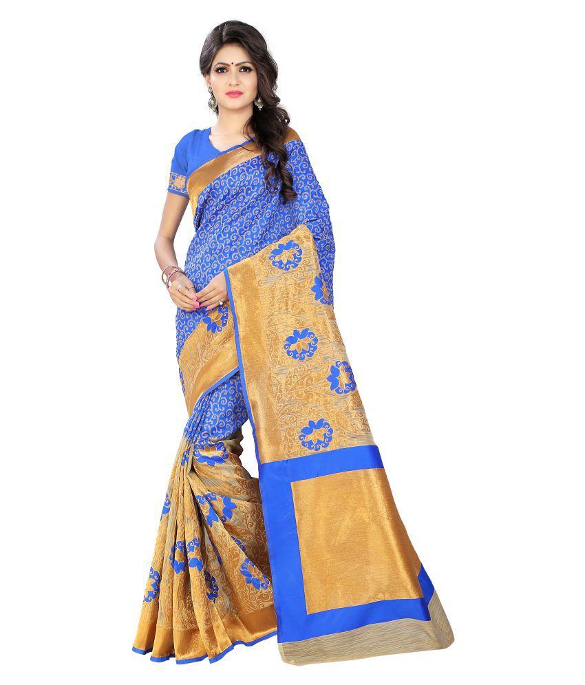 Indi Wardrobe Multicoloured Silk Saree