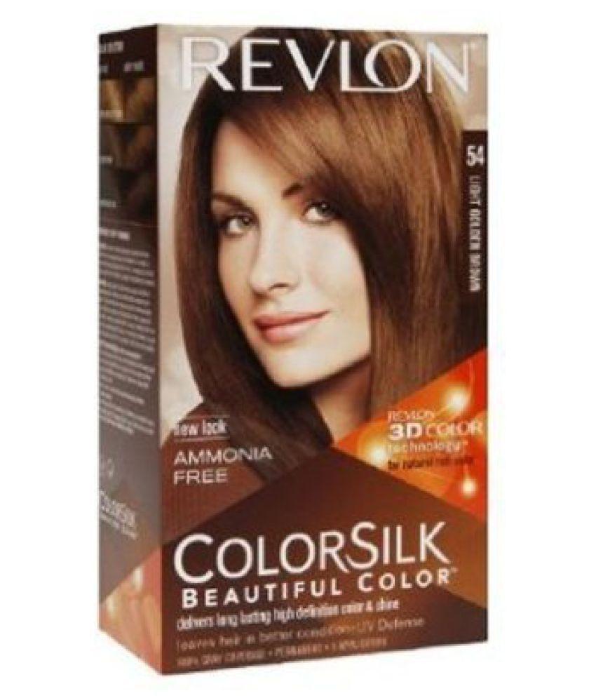 Revlon Hair Colour Light Golden Brown No (54) 100gm