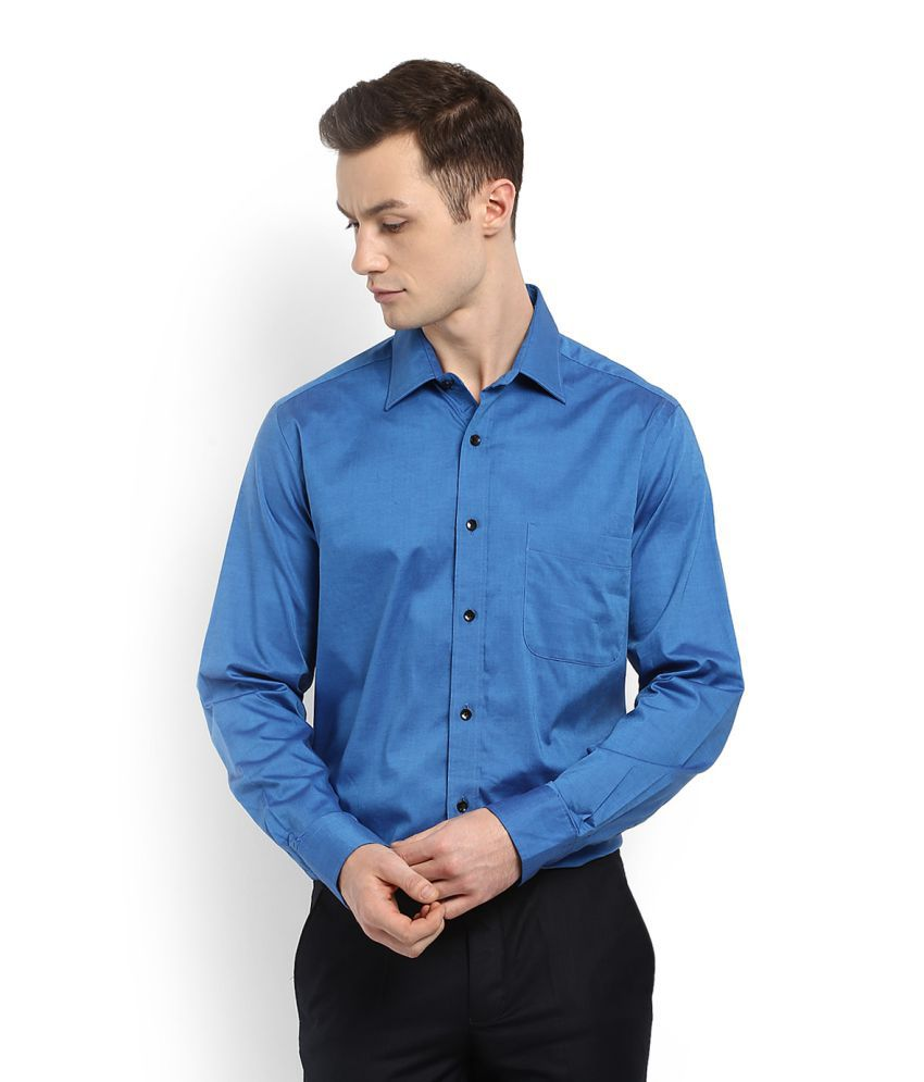 7fce3ac1b10 Arrow Sports Blue Formal Regular Fit Shirt available at SnapDeal for Rs.624