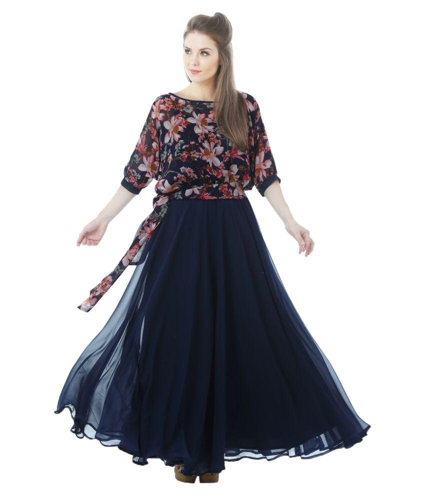 690e5bb49fd Maxi Dresses Online India Snapdeal