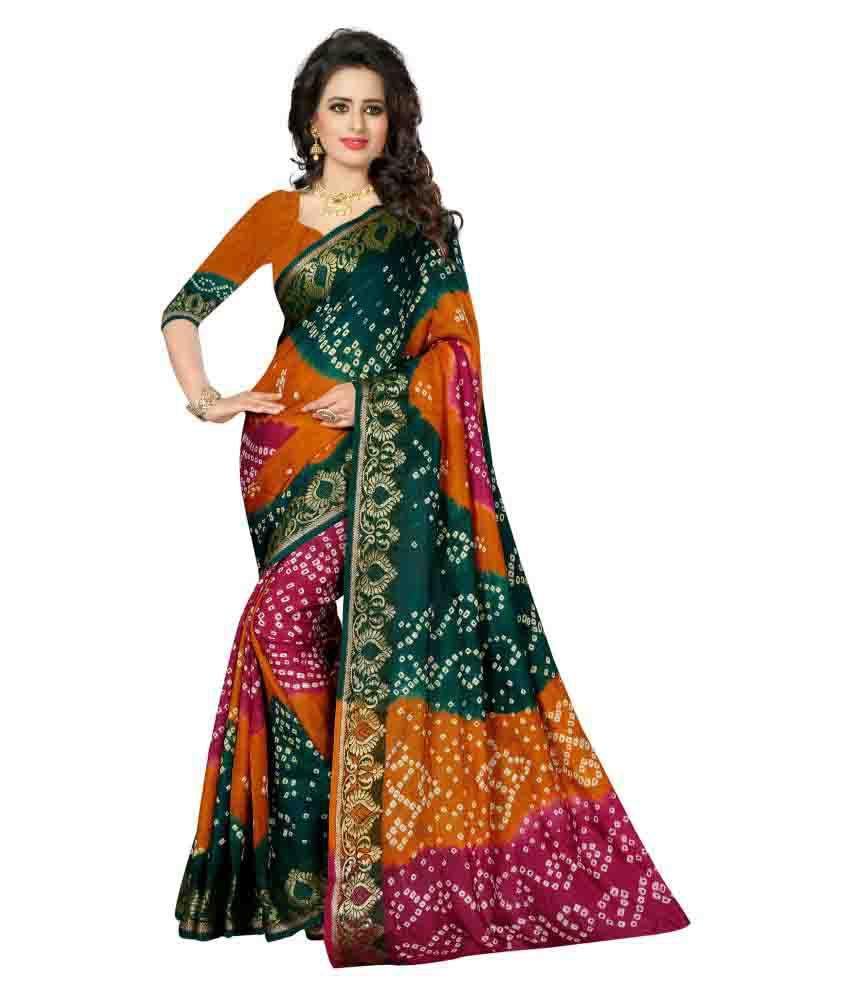 Fab Royal Multicoloured Art Silk Saree