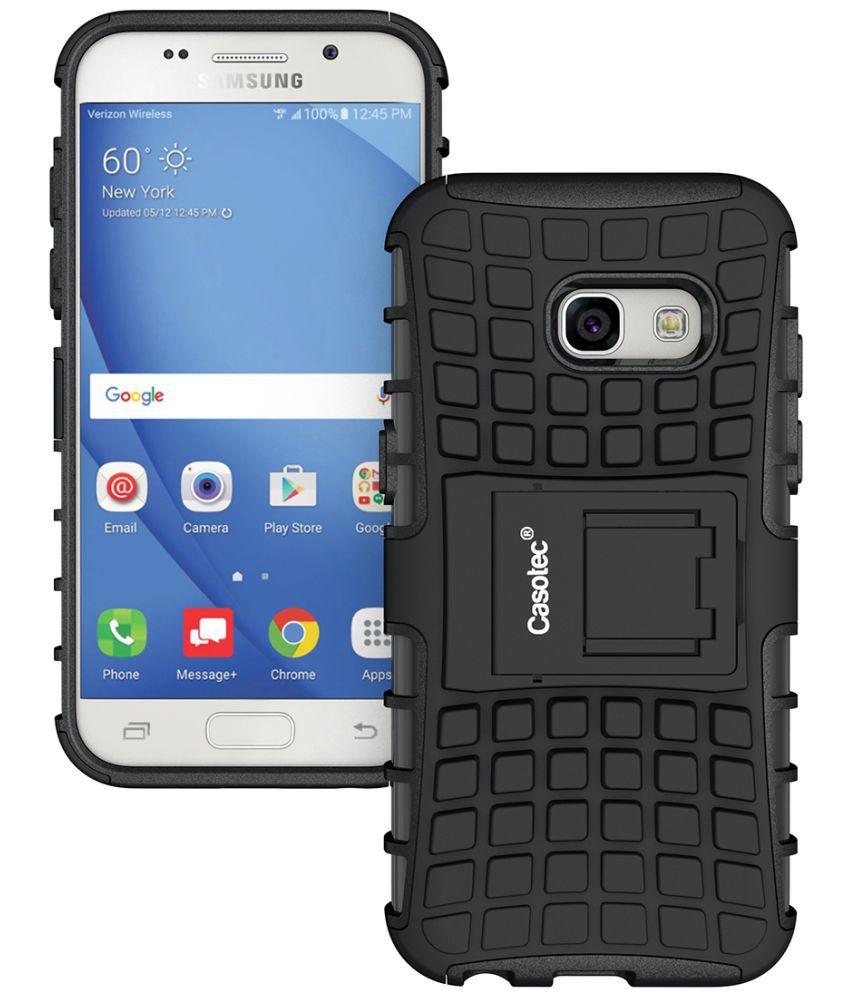 Samsung Galaxy A3 (2017) Hybrid Covers Casotec - Black