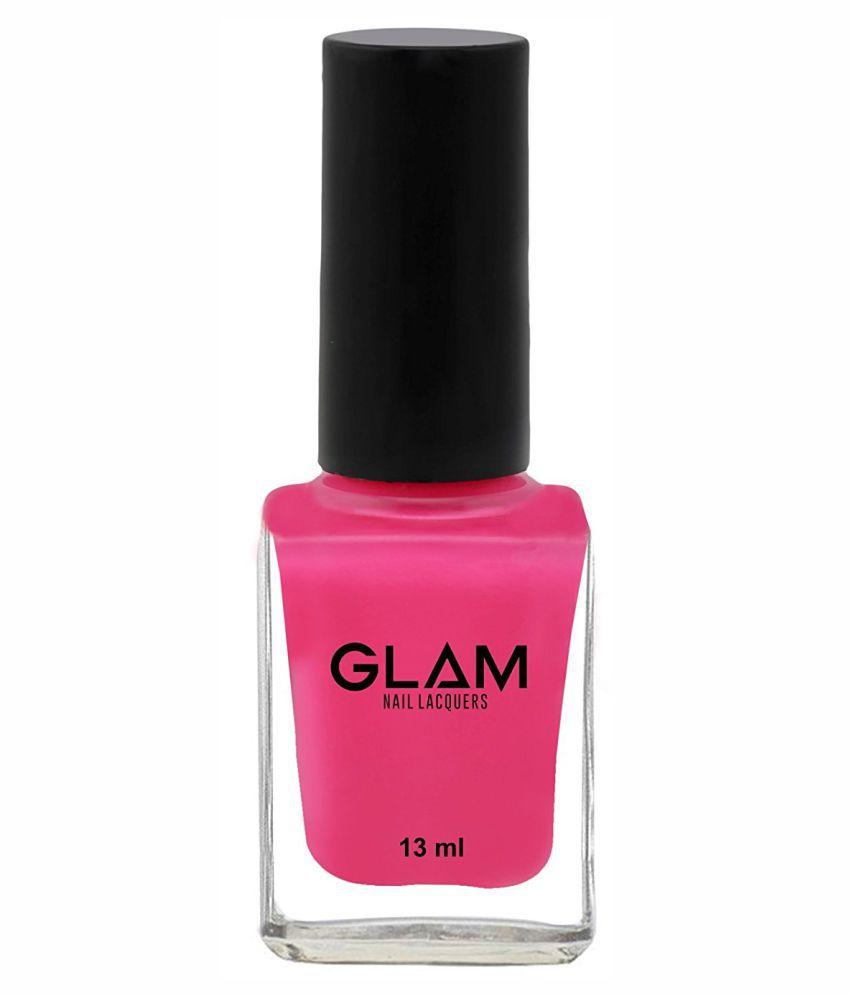 Glam Sexy Bride Nail Polish Pink Bridal Glossy 13 ml