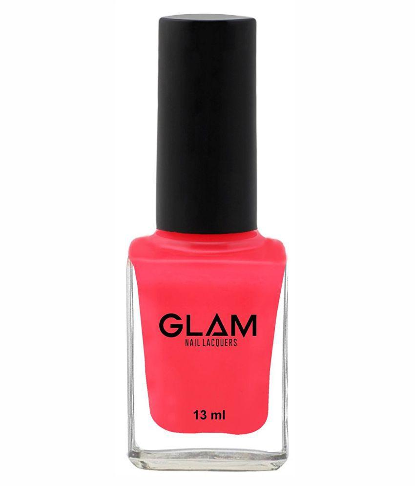 Glam Shocking Gal Flirtatious Nail Polish Pink Glossy 13 ml