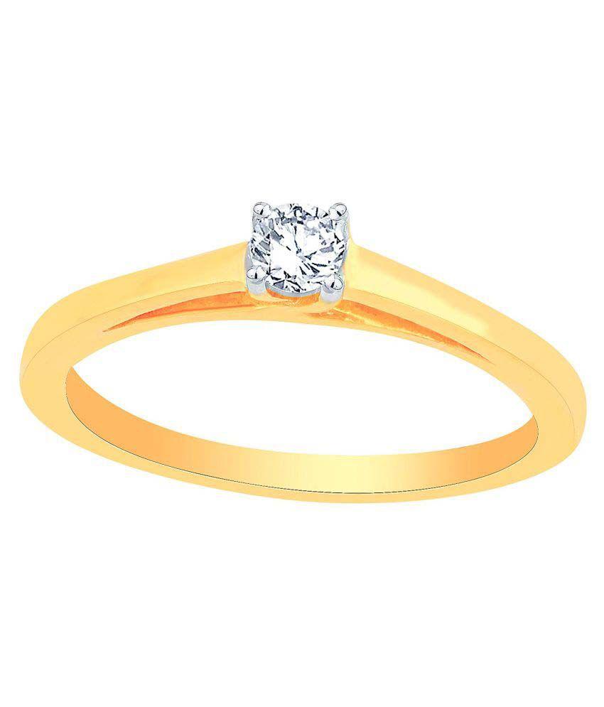 Glitterati 18k Yellow Gold Diamond Ring