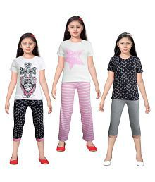Sweet Dreamers 100% Cotton Knitted Top & Pant set