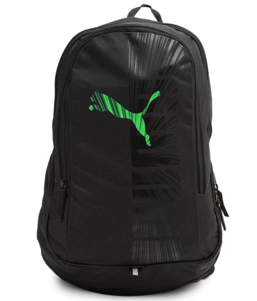 b8cdb266fc Puma Bag Puma Backpack College Bag College Backpack School Backpack School  Bag- Black Green Graphic 25 Ltrs - Buy Puma Bag Puma Backpack College Bag  College ...