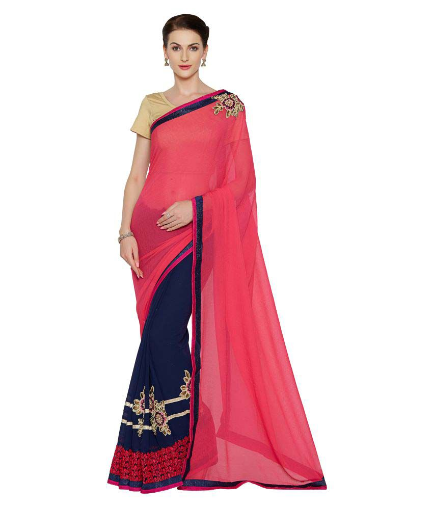 Anwesha Saree Multicoloured Georgette Saree