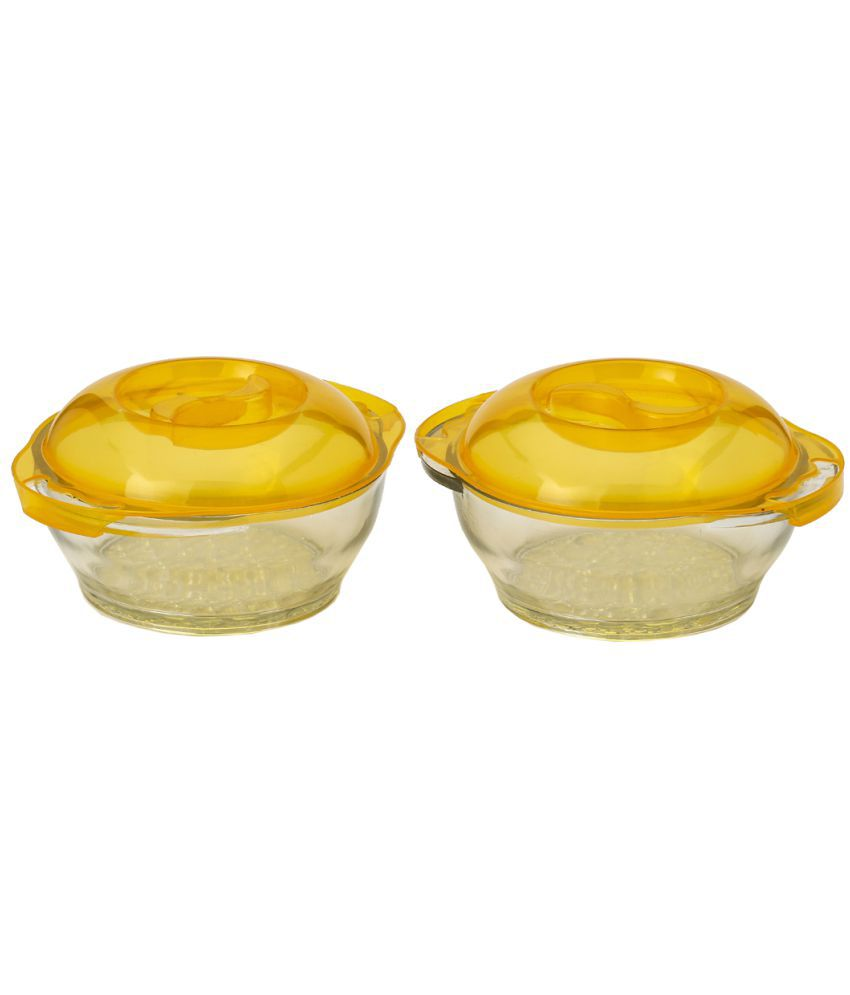Somil Glass Food Container Set of 2
